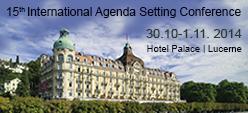 15th International Agenda Setting Conference